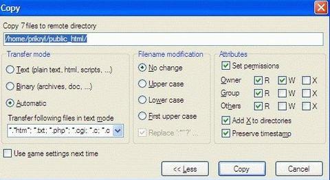 WinSCP Portable (โปรแกรม FTP SFTP โปรแกรมรับส่งไฟล์ ผ่าน Putty) :