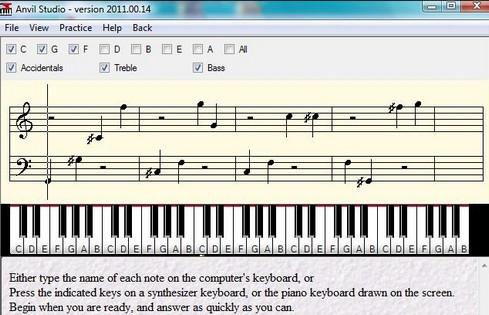 โปรแกรมสร้างเพลงจากเสียงดิจิทัล Anvil Studio