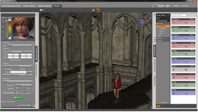 DAZ Studio (โปรแกรมทำภาพ 3 มิติ สุดเหมือนจริงระดับมืออาชีพ บน PC ใช้ฟรี)