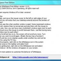GiMeSpace Free Edition (โปรแกรม จำลอง หน้าจอคอมพิวเตอร์)