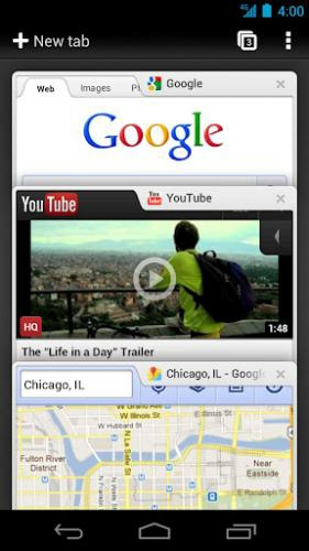 Chrome for Android Chrome for Android (บราวเซอร์ สำหรับแอนดรอยส์) :