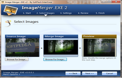โปรแกรมแต่งภาพ Image Merger.EXE