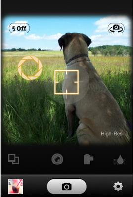 App กล้องฟิลม์ Instant110