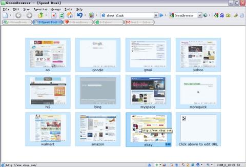 Green Browser (โปรแกรม ท่องเว็บขนาด โคตรเล็ก ที่คุณสมบัติ โคตรเยอะ) :