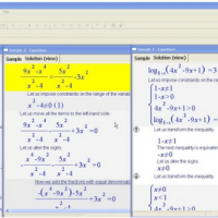 Universal Algebra Equation Solver (โปรแกรม แก้สมการพีชคณิต)