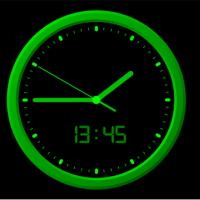 Analog Clock-7 (นาฬิกาแบบ อนาลอกที่สามารถ เปลี่ยน Skin ได้)