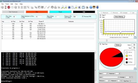 Network Pinger Portable (โปรแกรมตรวจสอบ Network เช็ค Network เแจกฟรี) :