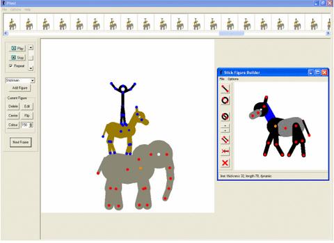 โปรแกรมสร้างภาพเคลื่อนไหว Pivot Animator
