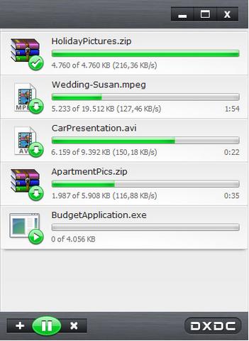 โปรแกรมเร่งความเร็วดาวน์โหลด DownloadX ActiveX Download Control