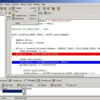 Bloodshed Dev-C++ (โปรแกรมเขียนภาษา C)