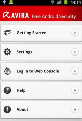 App โปรแกรมรักษาความปลอดภัย Avira