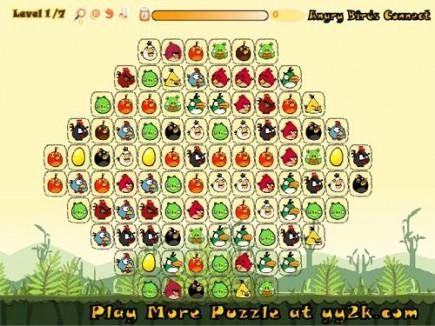 เกมส์จับคู่ Angry Birds