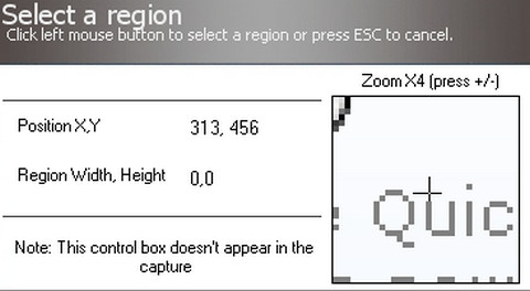 Capture My Screen (โปรแกรม Capture My Screen เซฟหน้าจอ บันทึกหน้าจอ 5 แบบ) :
