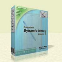Dynamic Notes (โปรแกรมOrganizer ส่วนตัว สมุดโทรศัพท์ เวลานัดหมาย ฯลฯ)