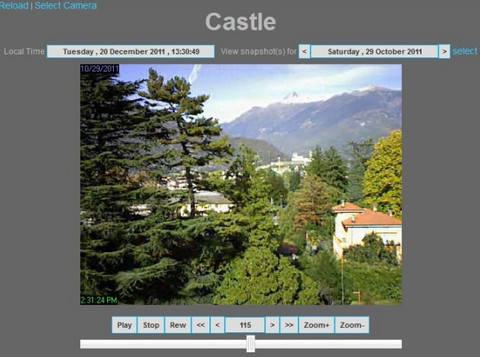 ContaCam (โปรแกรม ContaCam ดูกล้องวงจรปิด CCTV บน Windows) :