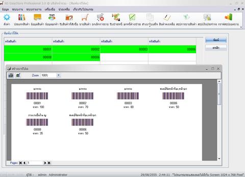 NS EasyStore Professional (โปรแกรม บริหารงาน ระบบขายสินค้า) :