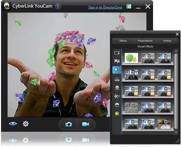 โหลดโปรแกรมกล้อง Cyberlink Youcam