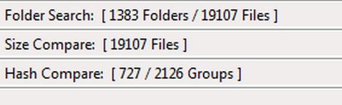 โปรแกรมค้นหาไฟล์ซ้ำ FileMany