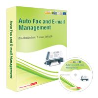 Auto Fax and E-mail Management (โปรแกรมรับ-ส่งแฟกซ์และ E-mail อัตโนมัติ)