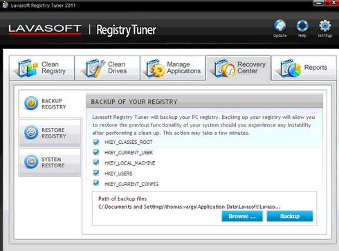 Lavasoft Registry Tuner (โปรแกรม ปรับแต่ง คอมพิวเตอร์ คอมเร็วขึ้น) :