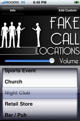App เปลี่ยนเสียงเวลาโทร Fake Call Locations