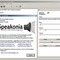 Speakonia (โปรแกรม แปลงข้อความเป็นเสียงพูด)