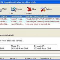 DeSofto SpamFilter (โปรแกรม เช็คข้อความใหม่ กรองเมล์ที่ไม่ต้องการ)