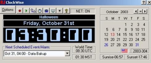 โปรแกรมนาฬิกา ClockWise
