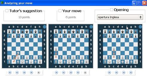 เกมส์หมากรุกฝรั่ง Lucas Chess