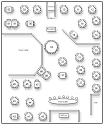 โปรแกรม ระบบจองร้านอาหาร iMagic Restaurant Reservation