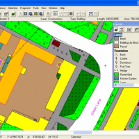 GIS ObjectLand (โปรแกรมสร้างแผนที่ ทางภูมิศาสตร์)
