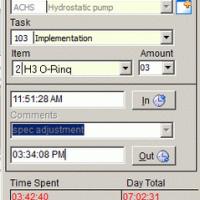 Employee Project Clock (โปรแกรมบันทึกการทำงาน การปฏิบัติงาน ของพนักงานในแต่ละโปรเจค)
