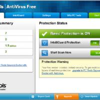 PC Tools AntiVirus Free Edition (โปรแกรมสแกนไวรัส แอนตี้ไวรัส ป้องกันไวรัสแบบเรียลไทม์)