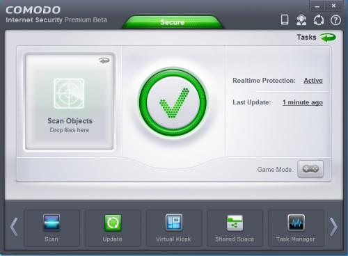 โปรแกรมป้องกันไวรัสจากเน็ต Comodo Internet Security