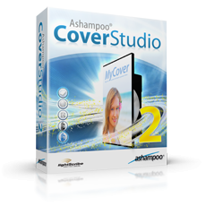 Ashampoo Cover Studio (โปรแกรมออกแบบลวดลาย บนแผ่น CD DVD) :