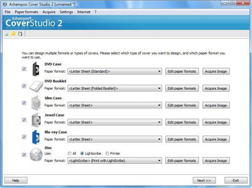 ดาวน์โหลดโปรแกรม Ashampoo Cover Studio