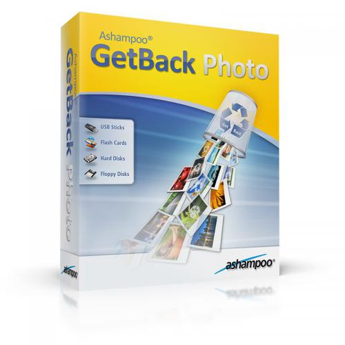 Ashampoo GetBack Photo (โปรแกรม GetBack Photo กู้ไฟล์รูปภาพ) :