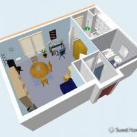 Sweet Home 3D (โปรแกรม Sweet Home ออกแบบภายใน 3 มิติ ฟรี)