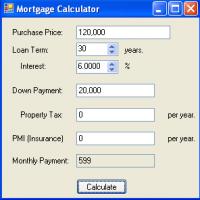 Mortgage Calculator (โปรแกรมบัญชี ประเมิน เปรียบเทียบ การจำนอง)