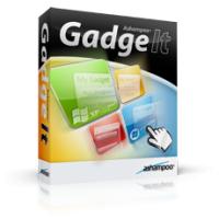Ashampoo Gadge It (โปรแกรมจัด ไอคอน Desktop ให้เป็นระเบียบ สวยงาม)