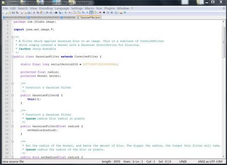 โปรแกรมเขียนโปรแกรม Notepad++