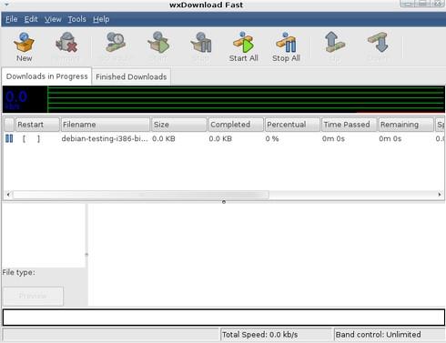 wxDownload Fast (โปรแกรมช่วยโหลด ดาวน์โหลดไฟล์ ทีละหลายไฟล์) :