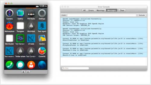 โปรแกรมจำลอง Firefox OS