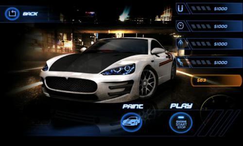 App เกมส์แข่งรถเสมือนจริง Speed Night