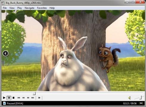 โปรแกรมดูหนังฟังเพลง Media Player Classic (MPC)