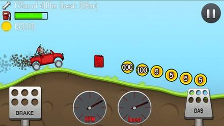 เกมส์ขับรถไต่เขา Hill Climb Racing