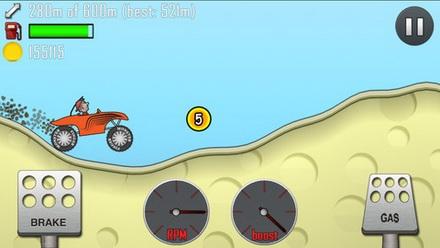 เกมส์ขับรถวิบากไต่เขา Hill Climb Racing