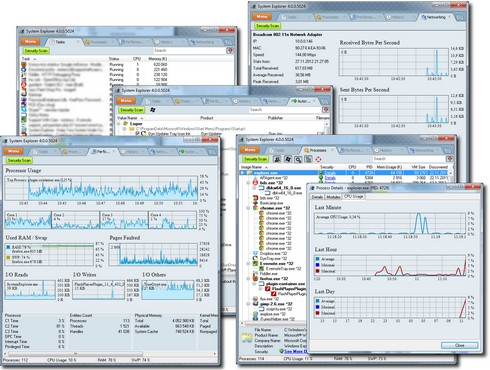 ดาวน์โหลดโปรแกรม System Explorer