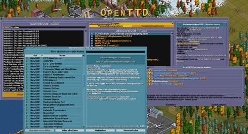 เกมส์จำลองระบบขนส่ง OpenTTD