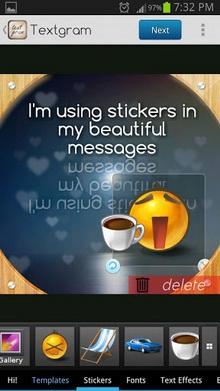 App แต่งรูป Textgram